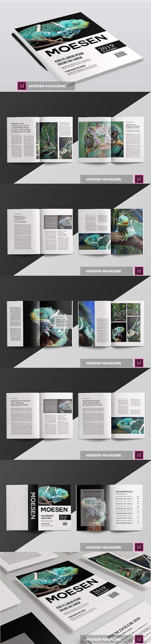 MOESEN | Magazine Template