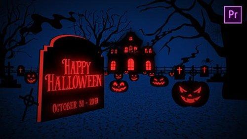 Halloween Greetings - Premiere Pro 24770654