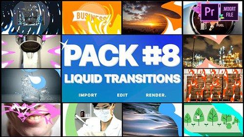 Liquid Transitions Pack 08 | Premiere Pro MOGRT 24780777