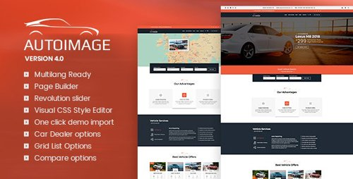 ThemeForest - Autoimage v4.3.2 - Automotive Car Dealer - 8784315 - NULLED