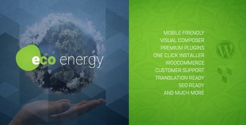 ThemeForest - ECO Energy v1.9.1 - Ecology & Alternative Power Company WordPress Theme - 12964860