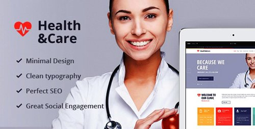 ThemeForest - Health & Care v1.8.2 - Life Coach & Medical Doctor WordPress Theme - 13002855