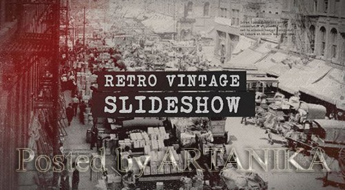 History Slideshow / Retro Vintage Opener / Old Memories Photo Album / Significant Events of Past 20935728