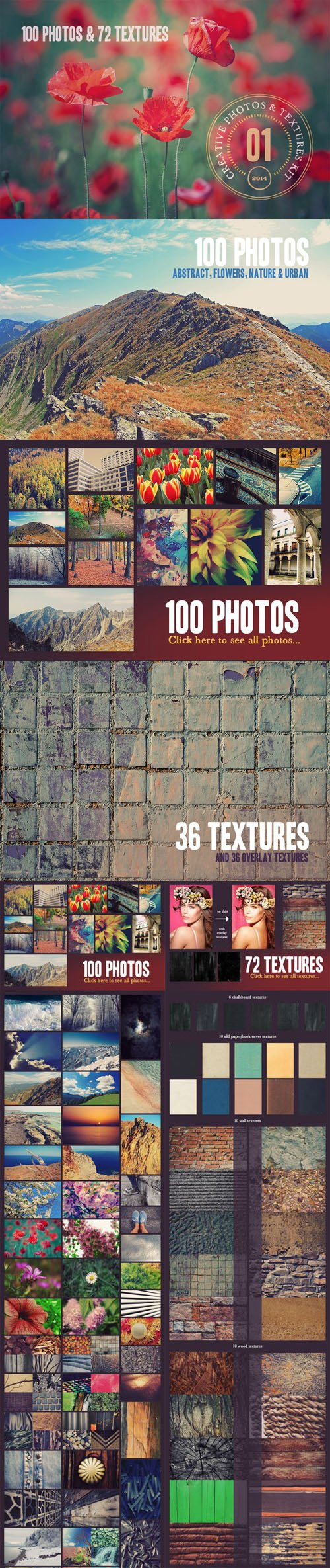 CM - Creative Photos & Textures Kit v1
