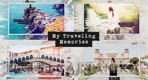 Traveling Memories / Journey Photo Album / Family and Friends / Adventure Slideshow 24759089