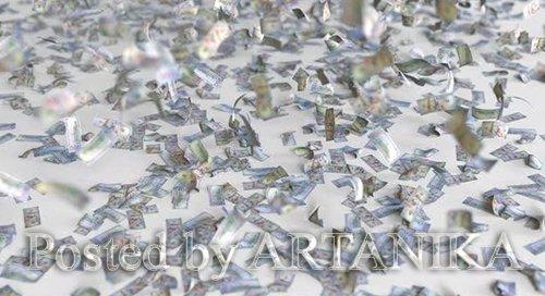 Hundred Dollar Bills Fall on the Floor 24726095