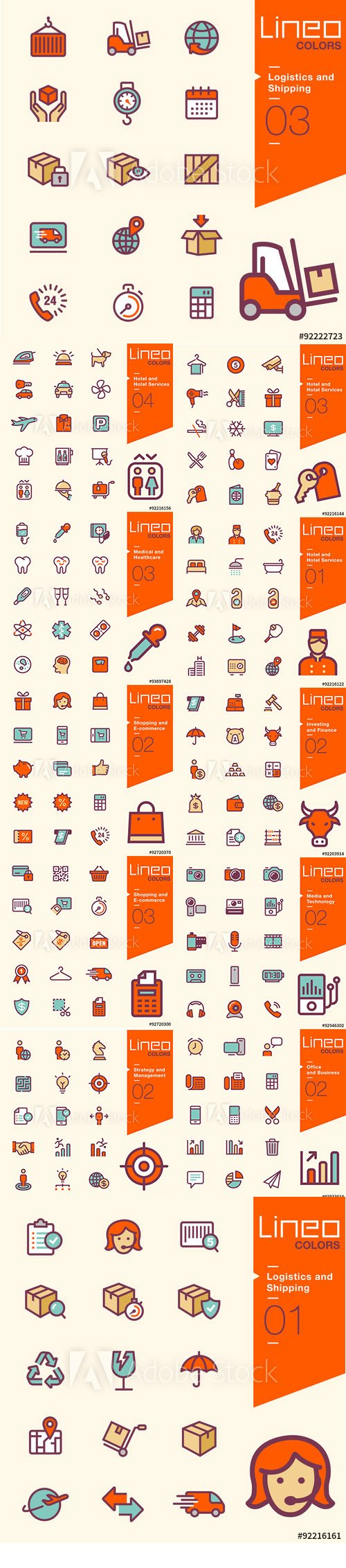 Lineo Colors Icons Pack Vol 4