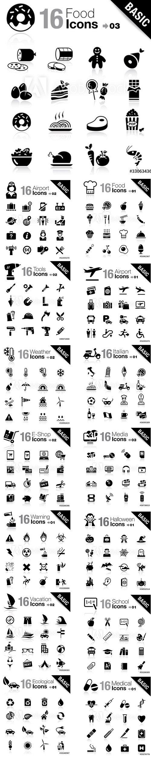 Basic Icons Pack Vol3