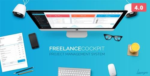 CodeCanyon - Freelance Cockpit 3 v4.0.2 - Project Management and CRM - 4203727 - NULLED
