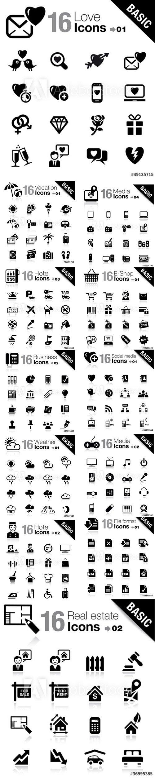 Basic Icons Pack Vol 4