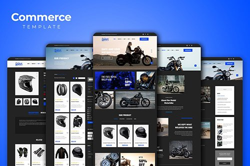 eCommerce Website Templates PSD