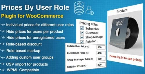CodeCanyon - Prices By User Role for WooCommerce v4.4.0 - 8562616