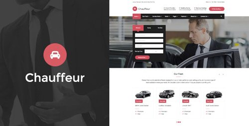 ThemeForest - Chauffeur v1.3.2 - Limousine, Transport And Car Hire WP Theme - 19471197
