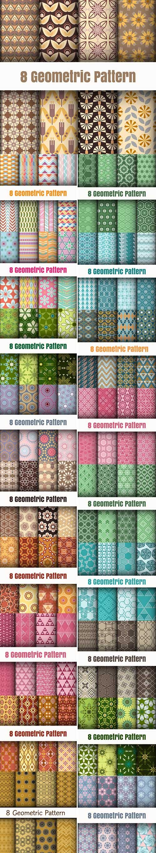 Geometric Pattern Background Pack