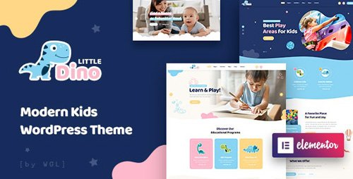 ThemeForest - Littledino v1.0.2 - Modern Kids WordPress Theme - 24525614 - NULLED
