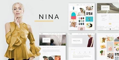 ThemeForest - Nina v1.0.2 - A Minimal and Creative Portfolio WordPress Theme - 18138876
