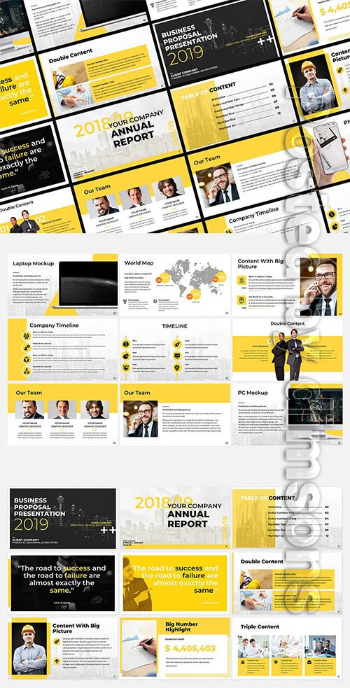 Yello Business Presentation