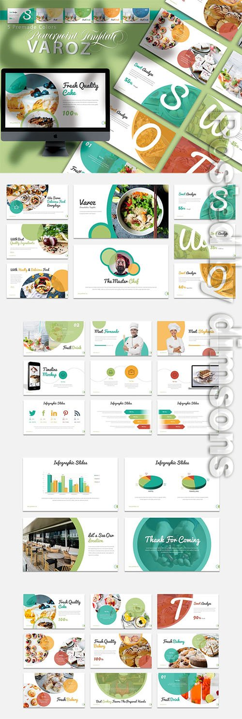 Varoz - Powerpoint, Keynote and Google Slides Templates
