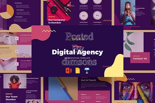Logan - Digital Agency Presentation Template