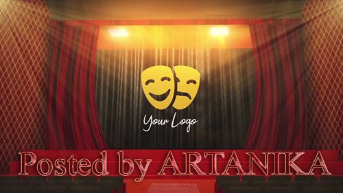 VideoHive - Theater Logo Reveal 24833199