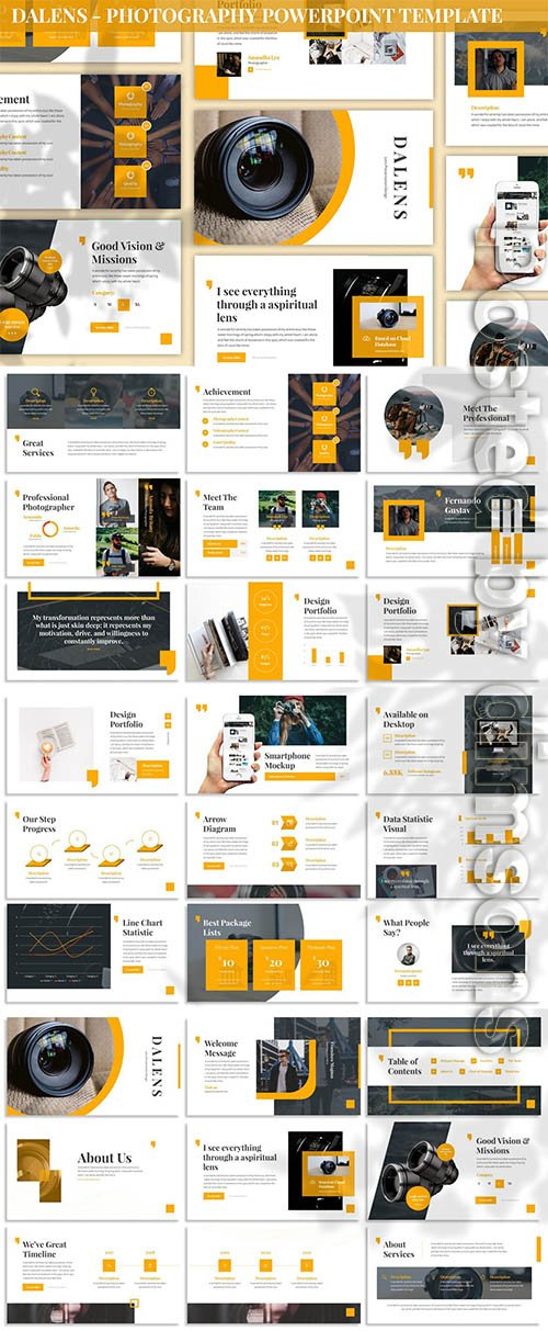 Dalens - Photography Powerpoint Template