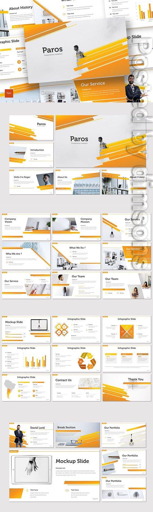 Paros - Powerpoint, Keynote and Google Slides Templates