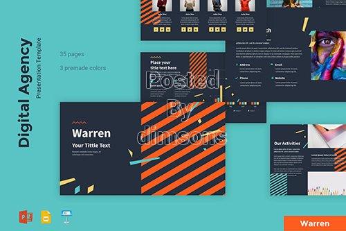 Warren - Digital Agency Presentation Template