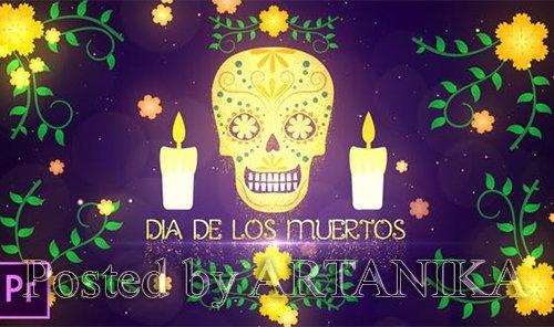 VideoHive - Dia De Los Muertos Opener - Premiere Pro 24845937