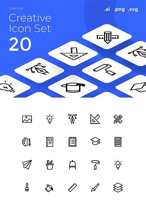 Creative Icon Set