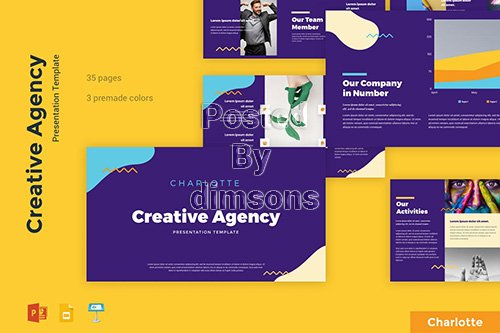 Charlotte - Creative Agency Presentation Template