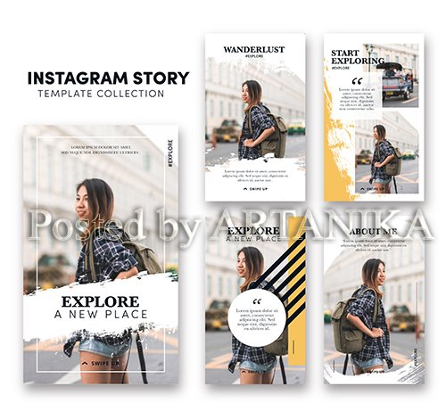 Instagram Stories Template Collections