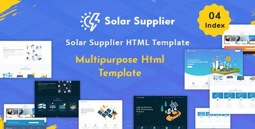 ThemeForest - Solar Supplier v1.0 - Responsive HTML Template - 24473040