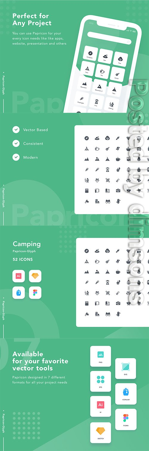 Camping-Papricon Glyph