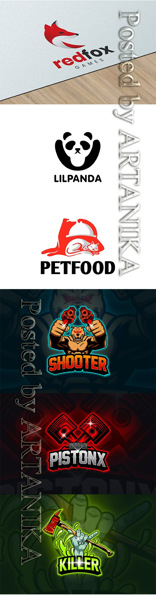 Creative Logo Template Pack