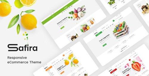ThemeForest - Safira v1.0 - Food & Organic Responsive Prestashop Theme - 24814717