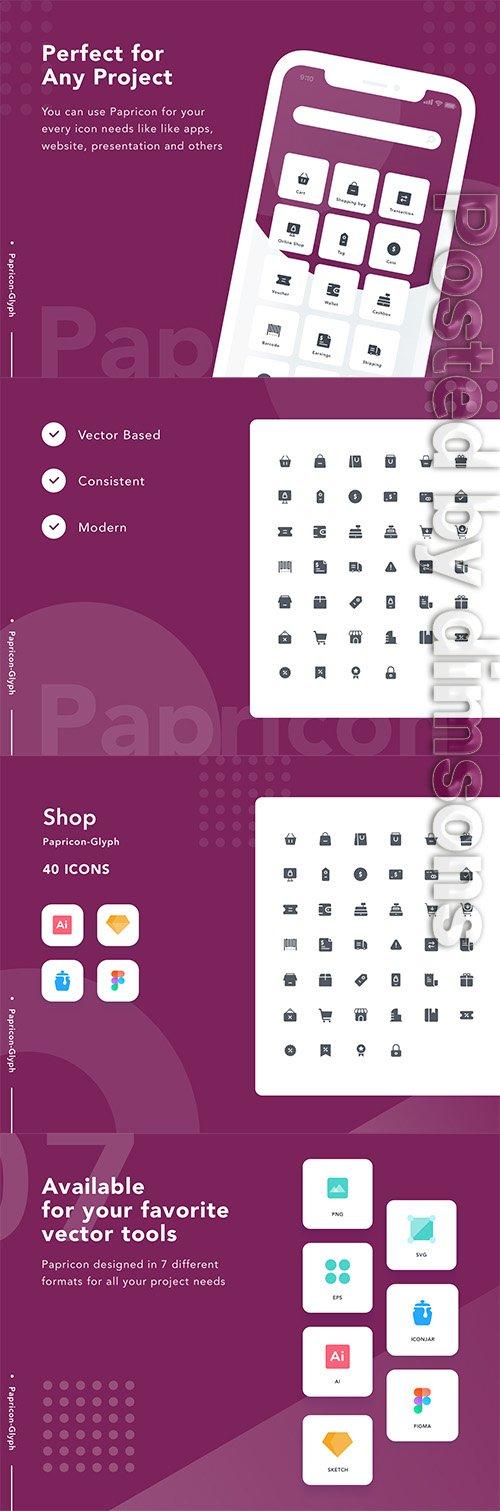 Shop - Papricon Glyph