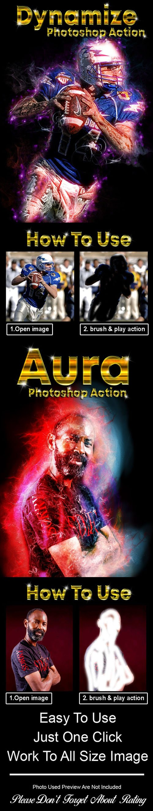GR - 4in1 Photoshop Action Bundle