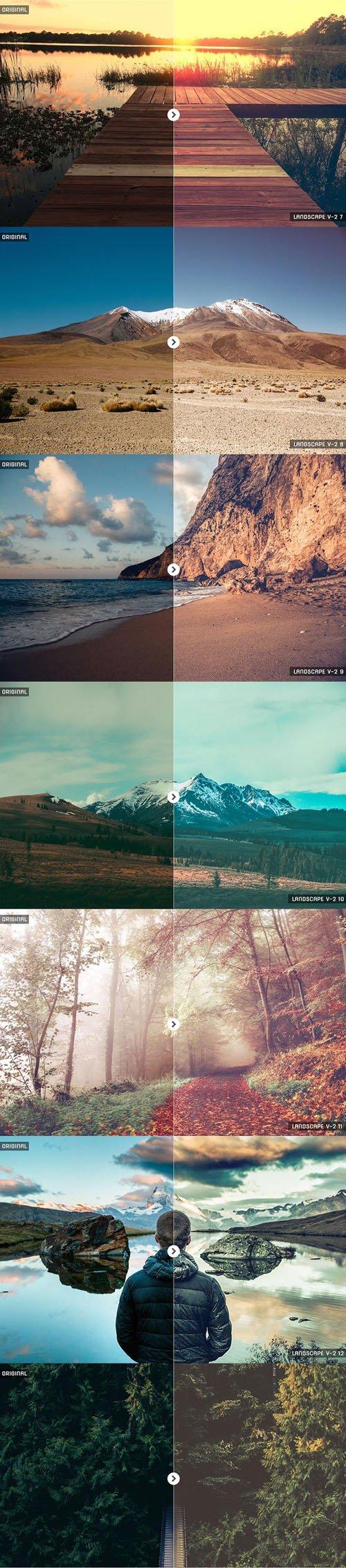 30 Landscape Lightroom Presets v2