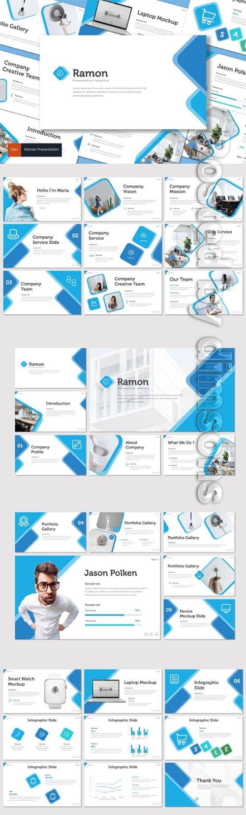 Ramon - PowerPoint, Keynote and Google Slides Templates