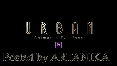 Urban - Animated Typeface 24801436