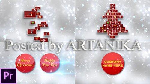 Christmas Card - Premiere Pro 24878081