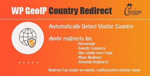 CodeCanyon - WP GeoIP Country Redirect v3.0 - 3589163 - NULLED