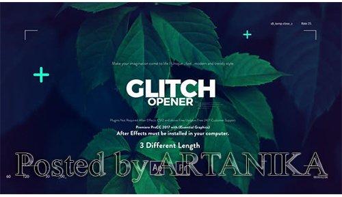 Glitch Media Opener I Premiere Pro 22076967