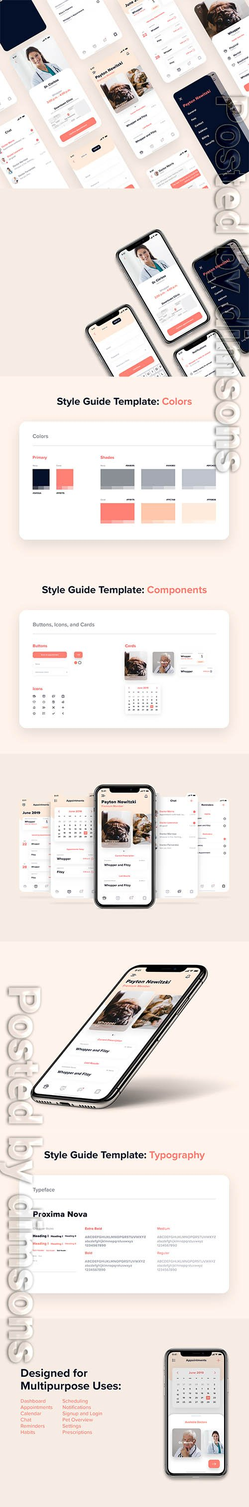 Petworld UI Kit for Adobe XD