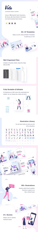 Vela Illustration Vector Library
