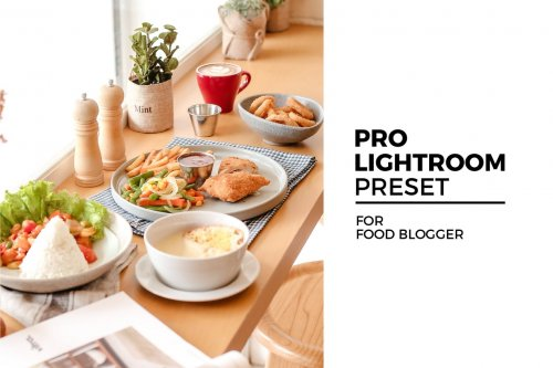 Lightroom Preset for Food Blogger