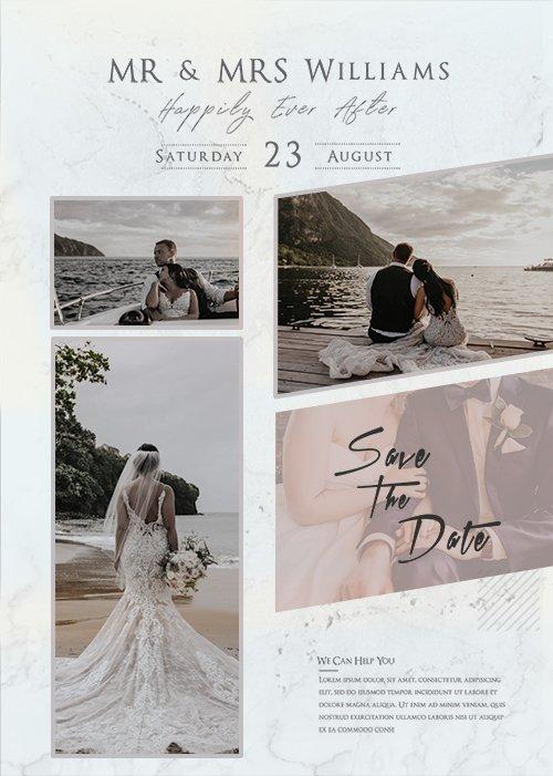 Wedding Photography - Premium flyer psd template