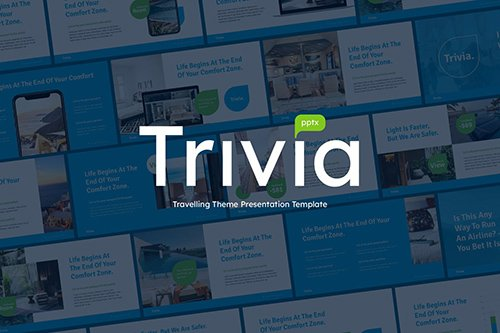 TRIVIA - Travel Business Powerpoint Template