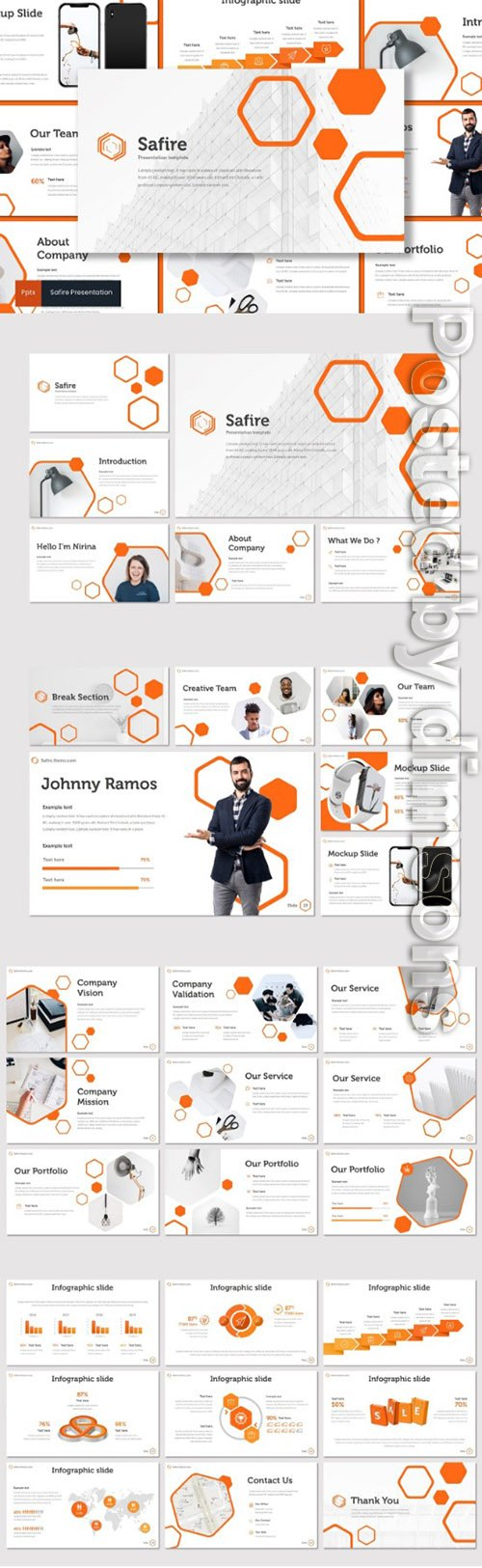 Safire - PowerPoint, Keynote and Google Slides Templates