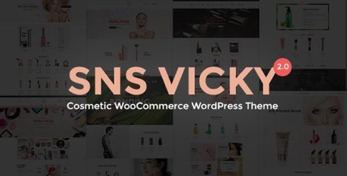 ThemeForest - SNS Vicky v2.7 - Cosmetic WooCommerce WordPress Theme - 20544854